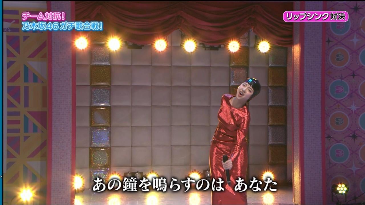 チーム対抗!乃木坂ガチ歌合戦!歌唱曲一覧表