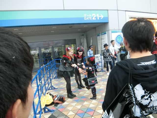 ベビーメタルの東京ドーム公演『黒い夜』に行って来ました