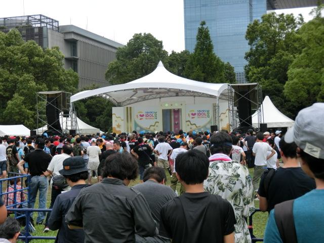 TIF(東京アイドルフェスティバル)2017で3日連続、無銭する